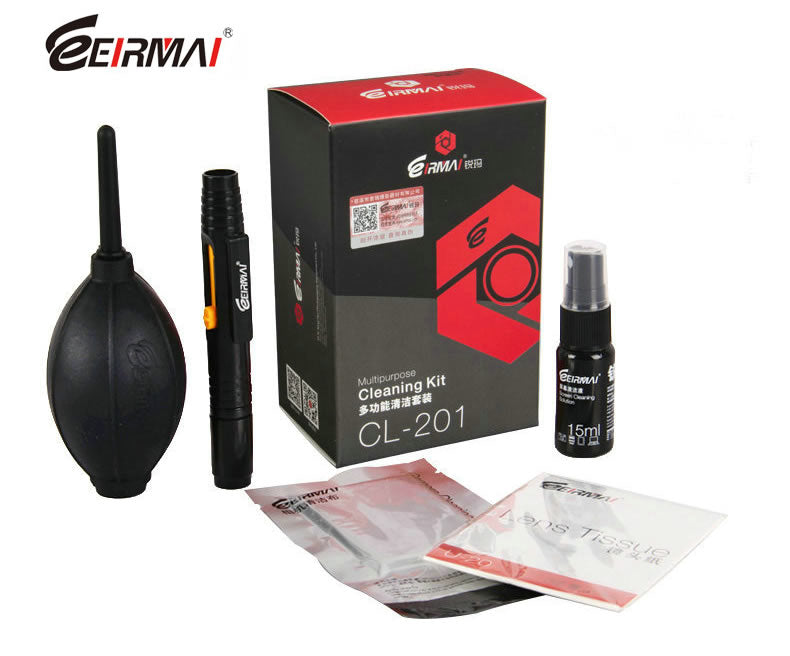 EIRMAI CL-201 5-in-1 Professional Lens Cleaning Kit For DSLR Camera
