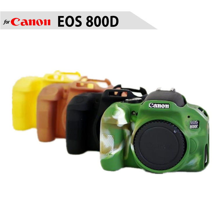 Silicone Rubber Case for Canon EOS 800D