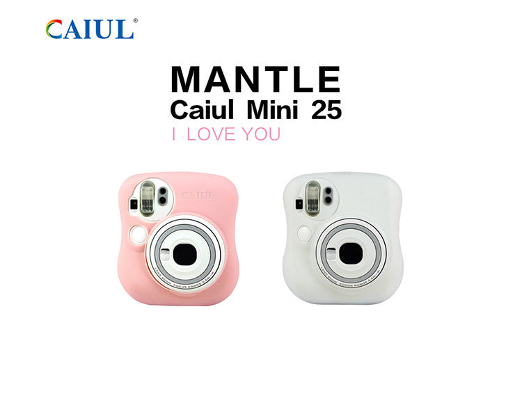 Caiul Silicone Case for Fujifilm Instax Mini 25