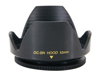 DC-SN Flower Shape Lens Hood Screw Mount For Nikon Canon