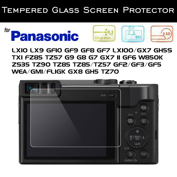 Tempered Glass Screen Protector for Panasonic Lumix
