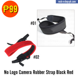 No Logo Rubber Camera Strap
