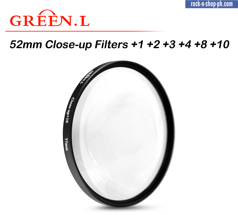 GreenL 67mm Close-up Filter +1 +2 +3 +4 +8 +10