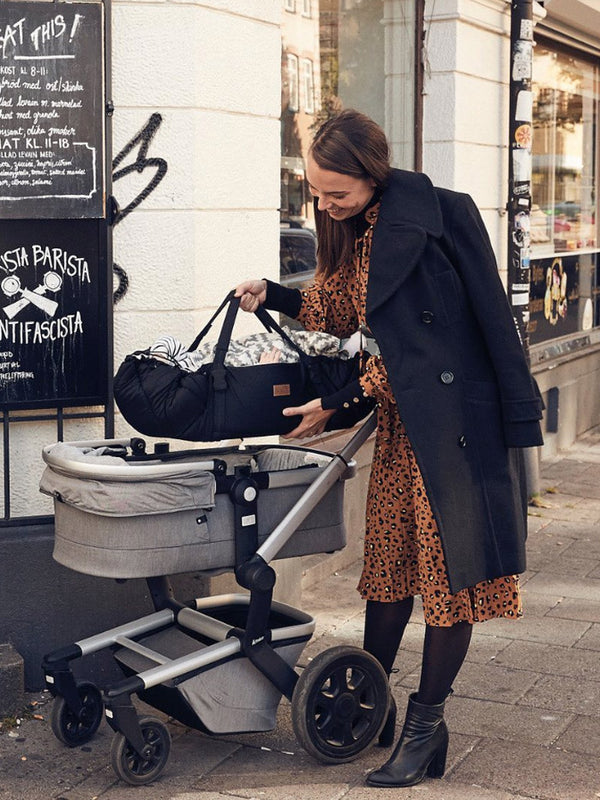 Sleep carrier babylift fra Najell - Sort