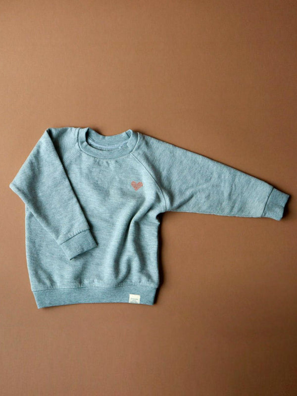 Sweatshirt - mineral grey