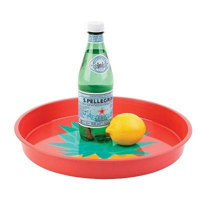 SUNNYLIFE PINEAPPLE ROUND TRAY
