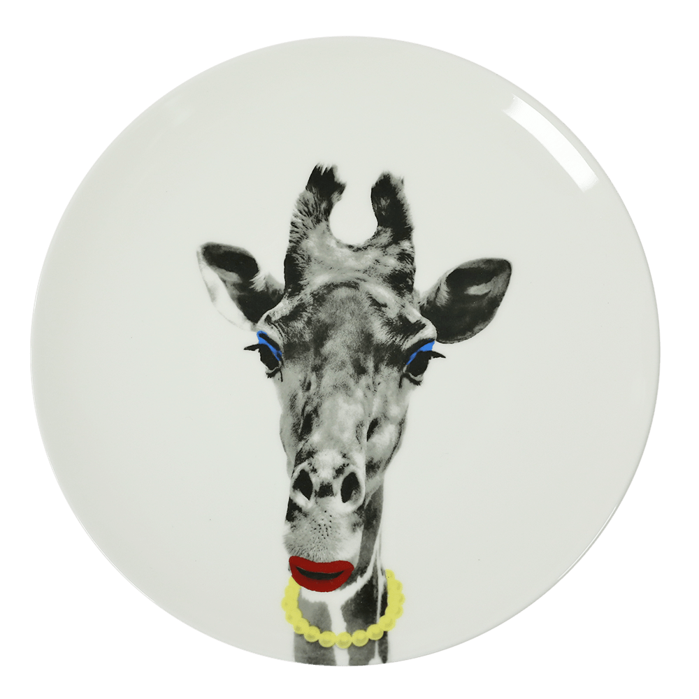 GIRAFFE PLATE - iDecorate