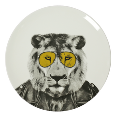 Lion Plate - iDecorate