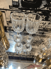 crstal wine glasses