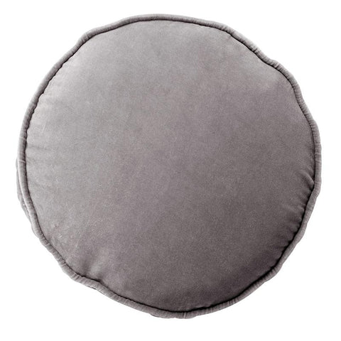 STORM VELVET PEA CUSHION