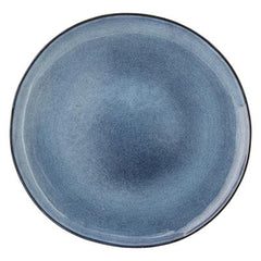 SANDRINE BLUE DINNER PLATE - iDecorate