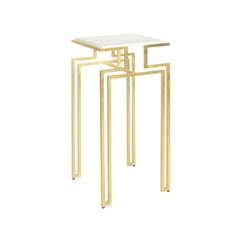 BAXTER GOLD SIDE TABLE