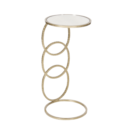 LOLA SILVER SIDE TABLE