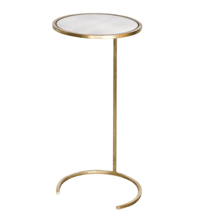 MONACO GOLD SIDE TABLE