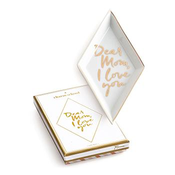 DEAR MOM, I LOVE YOU CHARM SCHOOL TRAY
