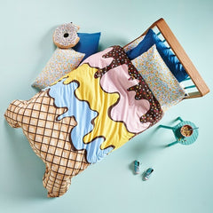 TRIPLE SUNDAE QUILT COVER - iDecorate