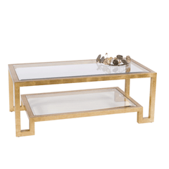 WINSTON GOLD COFFEE TABLE