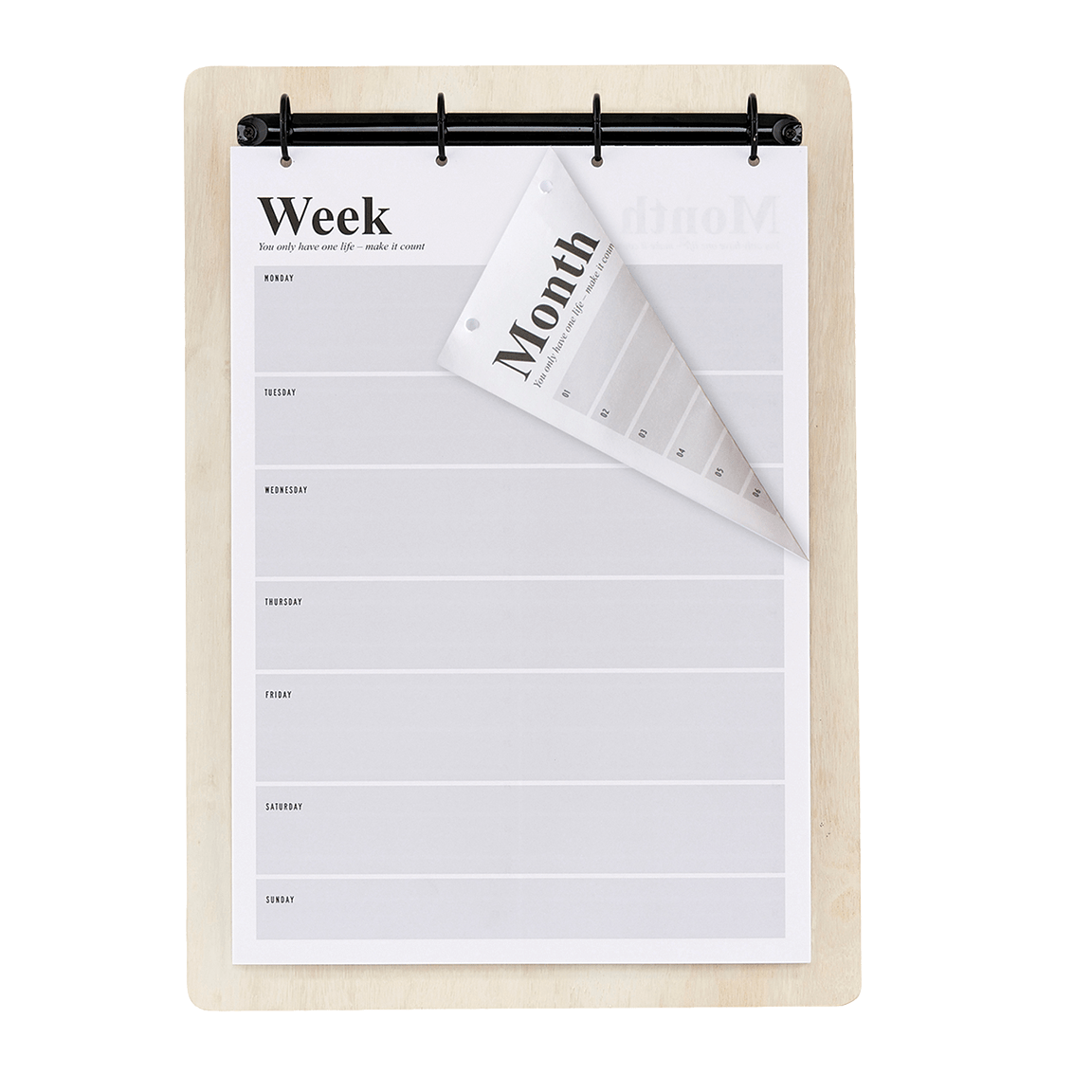 WEEKLY CALENDER - iDecorate