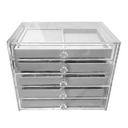 ACRYLIC JEWELLERY DRAWER (5 LAYERS)
