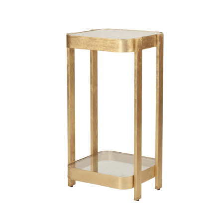 SHELDON GOLD SIDE TABLE