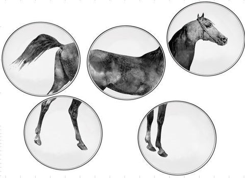 HORSE WALL PLATES