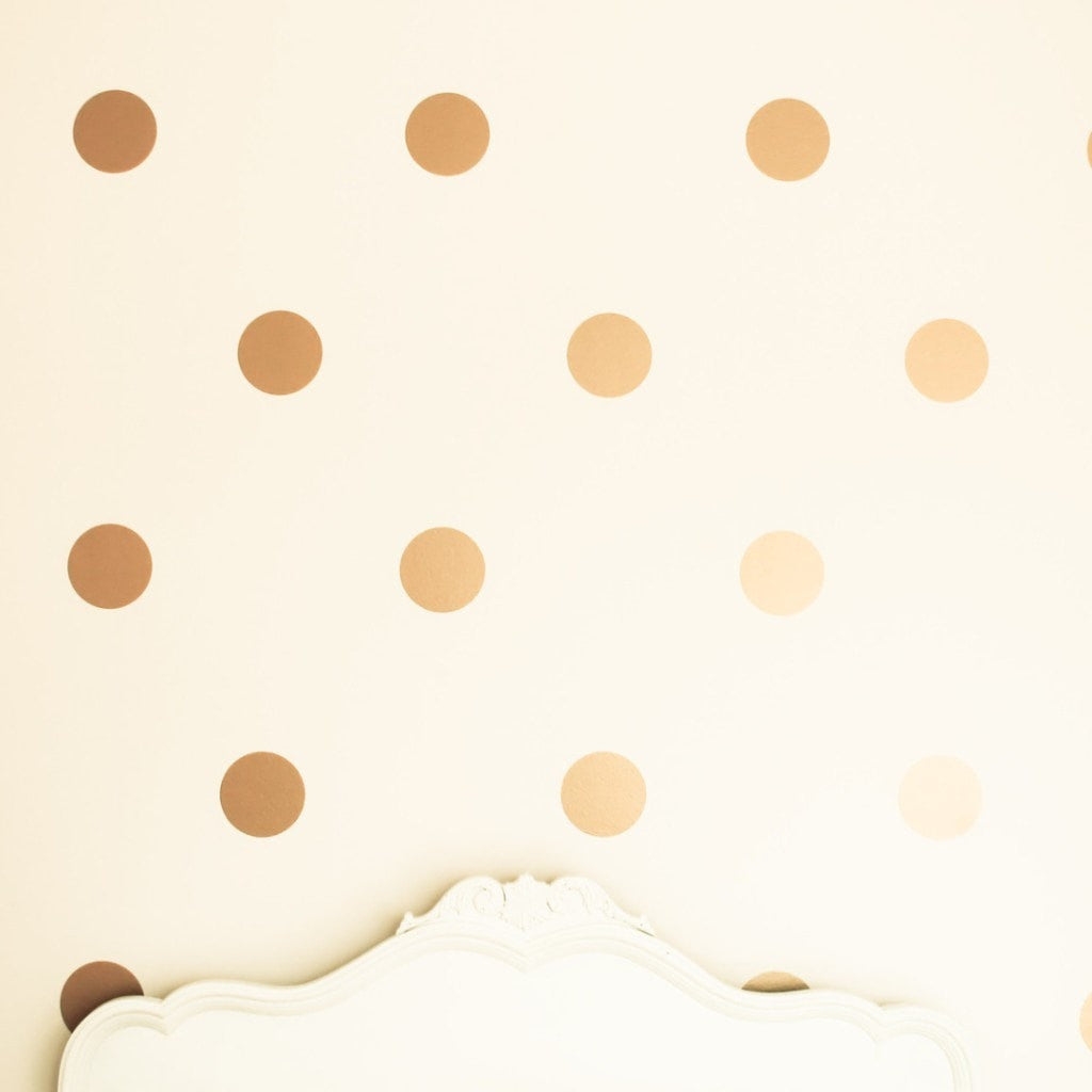 POLKA DOTS WALL DECAL - iDecorate
