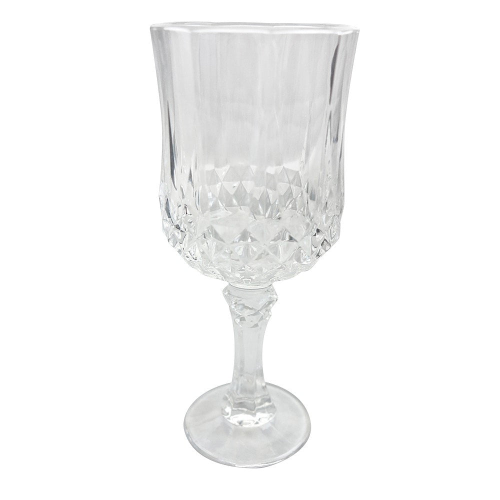 Crystal Wine Glass (Set of 6) - iDecorate