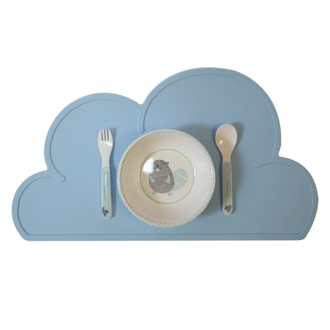 BLUE CLOUD PLACEMAT - iDecorate