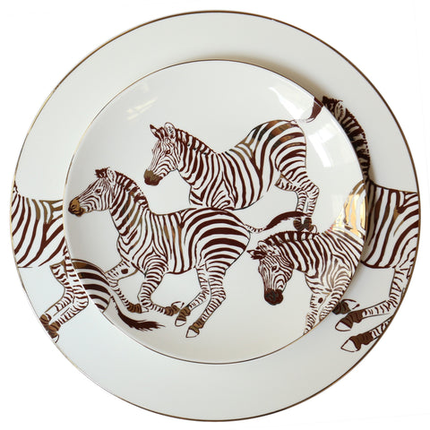 Zebra Dinner Set - iDecorate