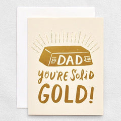 Solid Gold Dad - iDecorate