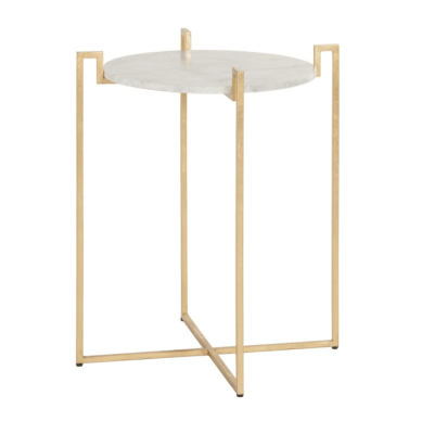 ABEL GOLD SIDE TABLE