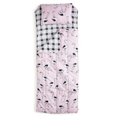 PINK FLAMINGO SLEEPING BAG