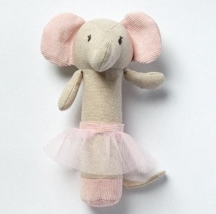 EMME ELEPHANT RATTLE - iDecorate