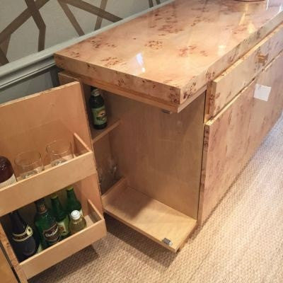 SHILOH WOOD BAR CABINET