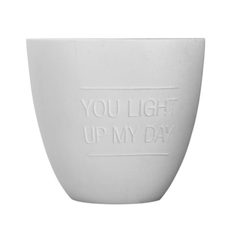 YOU LIGHT UP MY DAY VOTIVE