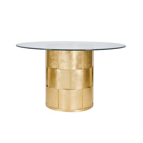 AMANDA GOLD DINNING TABLE