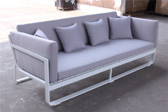 ELEGANT GREY 3 SEATER SOFA - iDecorate