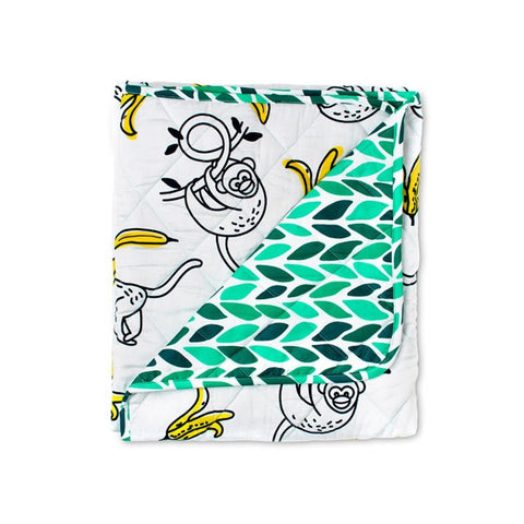 MONKEY QUILTED MAT