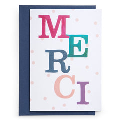 Merci Card - iDecorate