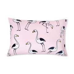 PINK FLAMINGO PILLOWCASE - iDecorate