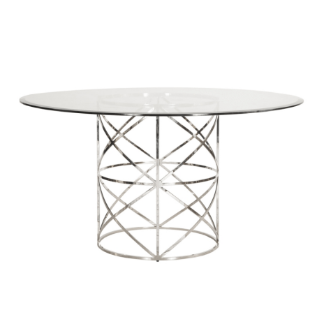 ANDERSON SILVER DINNING TABLE