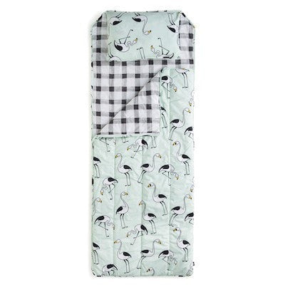MINT FLAMINGO SLEEPING BAG