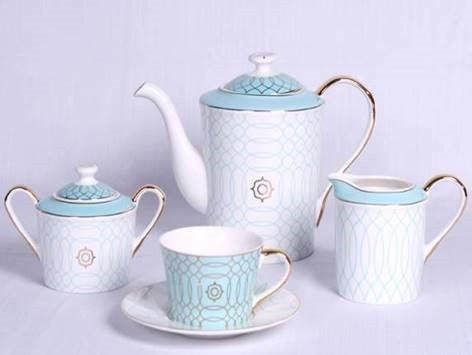 WONDERLAND TEA POT SET