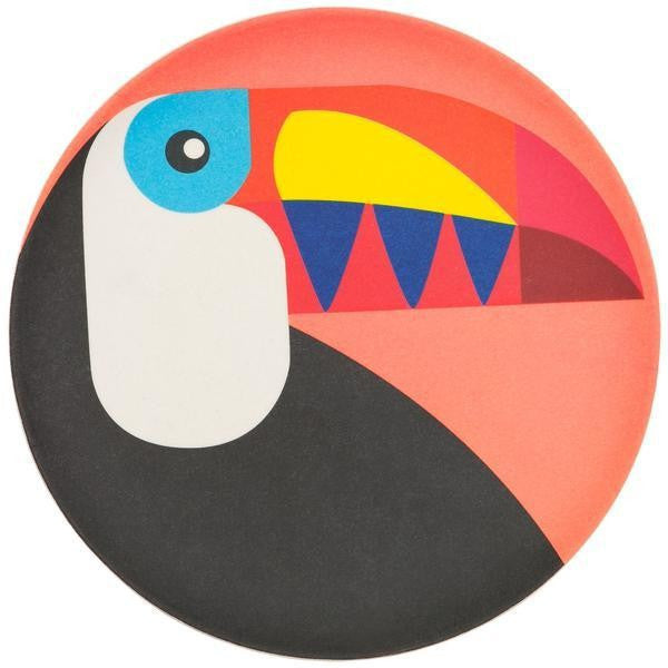 SUNNYLIFE ECO PLATE SMALL TOUCAN