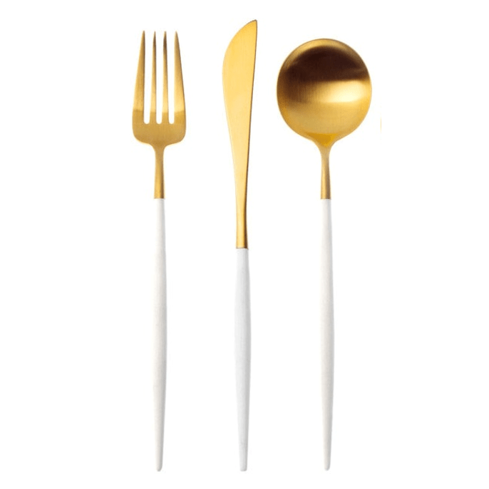 GOLDFINGER 3PC CUTLERY SET