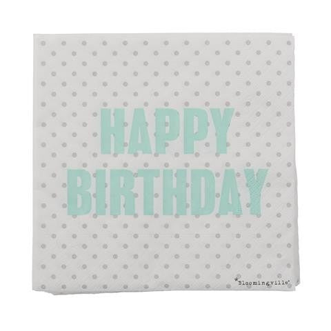 HAPPY BIRTHDAY NAPKINS