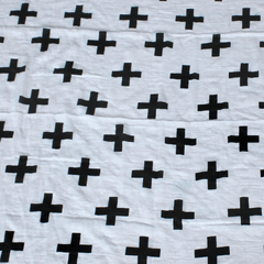 CROSSES ORGANIC COTTON WRAP - iDecorate