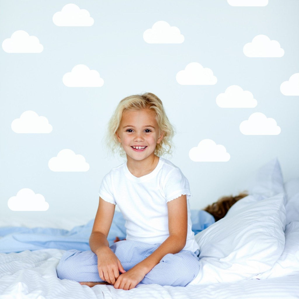 MINI CLOUDS WALL DECAL - iDecorate