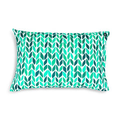 GREEN LEAF PILLOWCASE - iDecorate