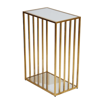 MARCO GOLD SIDE TABLE